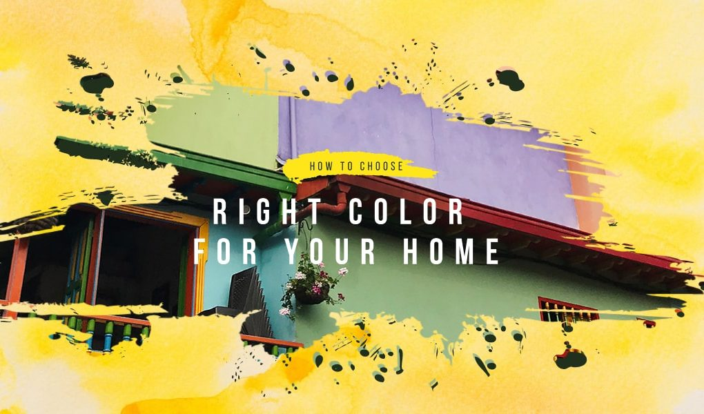 right paint color for your home